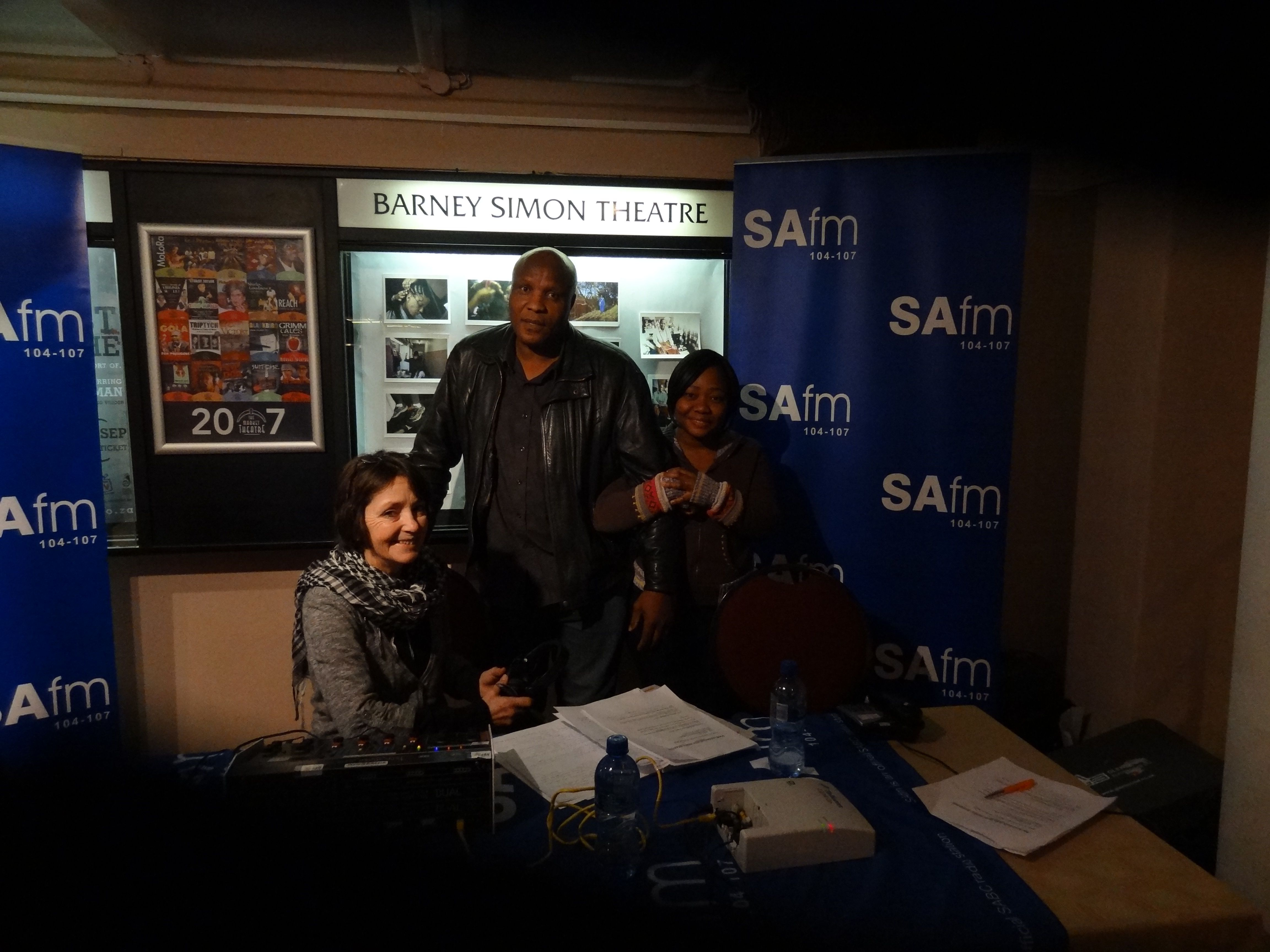 SAfm Literature Live At The MG Fest Nancy Techie Pule Mokoena And Producer Tsholo